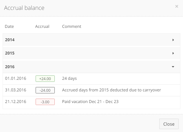 Step 5 Configure Absence Types And Accrual Policies