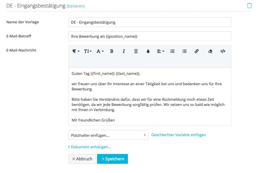 Wie Erstelle Ich Eine Automatische E Mail Eingangsbestätigung Für